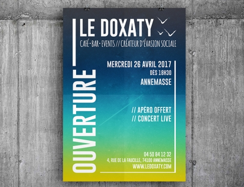 Le Doxaty – Affiche & Flyers